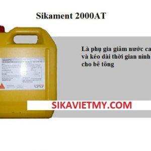 Sikament 2000AT Phụ gia giảm nước cao cấp và kéo dài thời gian ninh kết cho bê tông